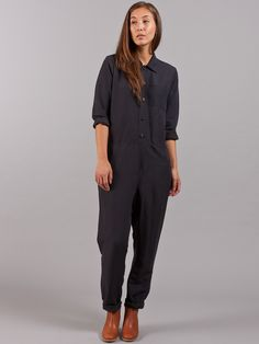 A.P.C. Anthracite Molly Jumpsuit