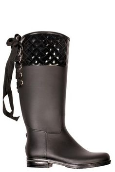 Quilted Victoria Rain Boot. ;)