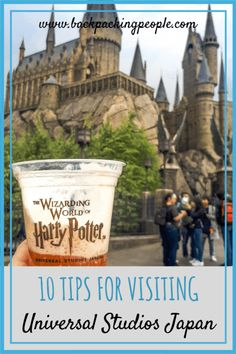 Things You Should Know Before Visiting Universal Studios Japan. Tips for visiting the Wizarding World of Harry Potter for all potterheads! #visitjapan #usj #solotravel #asia #japan #travel #traveltips