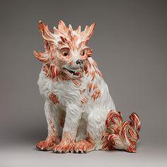Bolognese dog, ca. Meissen Porcelain Manufactory (German, since Modeler: Johann Gottlieb Kirchner (German, Bolognese, Dog Sculpture, Sculptures, Metropolitan Museum, Art Decor, Berlin, Illustration Art, Dogs, Artwork