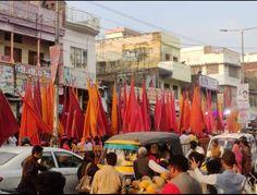 6 March....Basti Shree Shyam Nishaan Yatra...🙏 Important Dates, Fair Grounds, March, Street View, Fun, Travel, Viajes, Destinations, Traveling