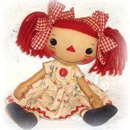 Rag Doll & Softie Patterns to Sew Soft Toys & Animals / Just Smile Anyway