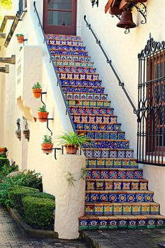 Tiled Steps: fine art photograph print of by UninventedColors