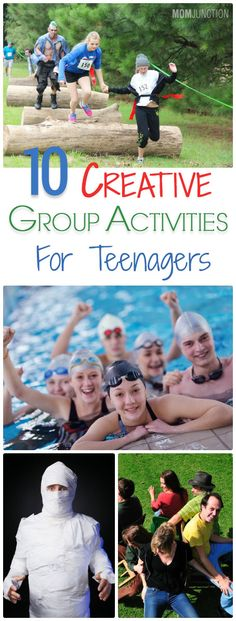 You are having trouble dealing with one teenager. Imagine dealing with a group of them! Not to worry! Check our fun group games and activities for teens.