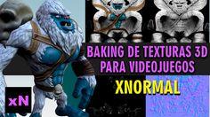 Baking de texturas 3D para  videojuegos en XNormal