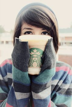 Starbucks on winter = THE BEST!!