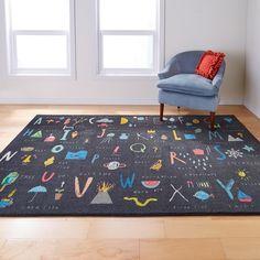 Kids Playroom Rugs, Playroom Table, Modern Playroom, Kids Area Rugs, Playroom Furniture, Area Rugs For Sale, Playroom Ideas, Playroom Storage, Playroom Design
