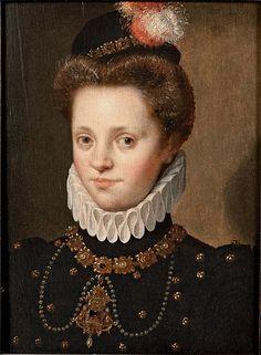Circle of Lavinia Fontana Portrait of a Lady c. 1575-1580