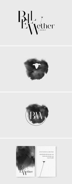 Branding / Logo Design / Business Card Design / Bliss & Bone Identity Design, Visual Identity, Lab Logo, Watercolor Logo, Cool Business Cards, Graphic Design Inspiration, Business Card Design, Typography Design, Optometry