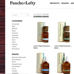 Juniper Ridge, New Packaging. (no fake fragrance, life on the trail, mountains in a bottle, made in usa)