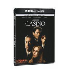 Blu-ray Casino, UHD + BD, CZ dabing | Elpéčko - Predaj vinylových LP platní, hudobných CD a Blu-ray filmov Sharon Stone, Robert De Niro