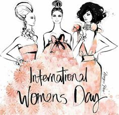Megan Hess Illustration - International Womens Day.