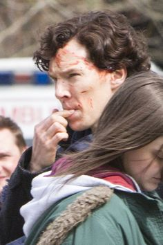 benedict after the fall scene