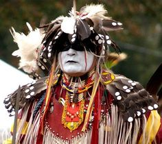 fearsome lakota                              dancer w/plains mandan0style dog soldier