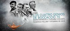 Los cuatro genios de Boccaccio 70 http://promoviendoteperu.com/cultural/item/2487-los-cuatro-genios-de-boccaccio-70.html
