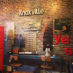 Knoxville prints on wood, available at Coldstream Market (Artist: Adam Kasprzak)