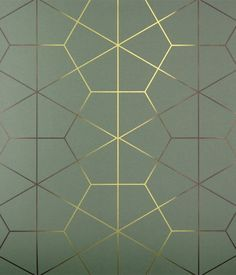 Exposition Wallcovering in Jade - Art Deco Wallpapers - Dering Hall Photo Web, Wall Panel Design, Art Deco Wallpaper, Fancy Houses, Art Deco Era, Vintage Home Decor, Art Deco Fashion, Home Decor Accessories, Textures Patterns
