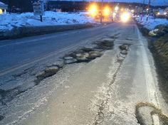 Another #RIpothole. Reader Greg Erickson says worst ones are Rt. 122 Cumberland Hill Rd & Rt 126 Social St. in Woonsocket,