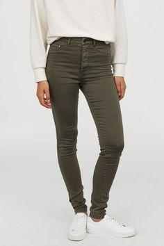 "Cup of Joe Damen Super Skinny Jeans /""Sophia/"" d.grey"