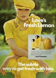 Love's Fresh Lemon.  I LOVED LOVED LOVED this perfume. So fresh, wish it was still around.