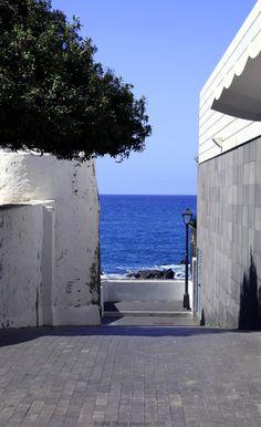 'To the Sea'  Puerto de la Cruz, Tenerife - Canaries Islands   #tenerife #blue #pictures #tropics #holidays #ocean #Canaries #islands #sea #topVISE