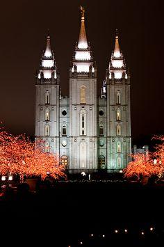 SLC Temple Slc Temple, Church Pictures, Lds Temples, Lds Quotes, Latter Day Saints, Writing Services, Salt Lake City, Jesus Christ, Goodies