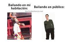 bailando...