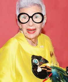 "Iris Apfel: The 96-year-old fashion icon with more hutzpah than an arena full of Gen-Z entrepreneurs. This ""geriatric starlet""—as she so comically calls herself—is adored throughout the industry for her flamboyance and quick wit. No one provides a sound-bite quite like her, but the..."