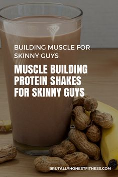 shake to gain muscle for men Muscle Building Fitness Recipes - Protein Shakes for skinny guys Muscle Building Meal Plan, Muscle Building Women, Muscle Building Workouts, Protein Shake Recipes, Protein Smoothies, Protein Shakes For Men, Healthy Shakes, Fruit Smoothies, High Protein