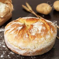 Medieval Food: Rustic potato bread