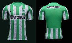 Atlético Nacional unveil new Nike home kit for 2014
