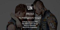unPress - The PSD Magazine for Strangers  -  http://themekeeper.com/item/psd-templates/unpress-psd-magazine-strangers