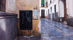 Arquitectura Valenciana I Óleo sobre lienzo 130x162