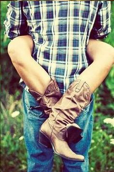 Johnson, think we could do this on wedding day? I think it could be super cute! Couple Photography, Engagement Photography, Wedding Photography, Photography Ideas, Heart Photography, Inspiring Photography, Photography Business, O Cowboy, Cowboy Boots