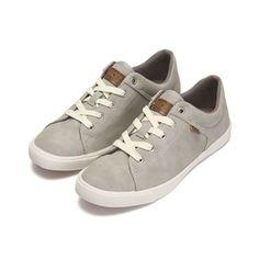 HOZKOREA Women's Maron Grey Sneakers #HOZ #Sneakers