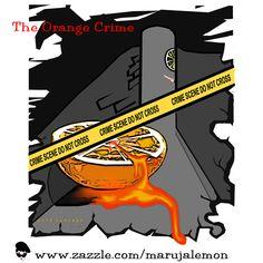 The Orange Crime Crime, Concept, Orange, Movie Posters, Movies, 2016 Movies, Popcorn Posters, Movie, Films