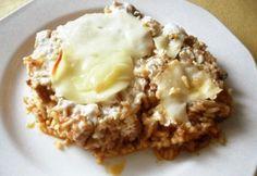 Bátaszéki rizses hús