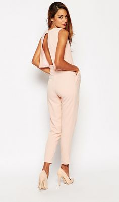 Pin by Giovanna Garcia on Monos largos in 2019 Beautiful Outfits, Cool Outfits, Fashion Outfits, Womens Fashion, Estilo Resort, Asos Jumpsuit, Jumpsuit Elegante, Look Formal, Evening Outfits