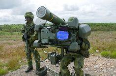 Argentinian Army MANPADS RBS-70