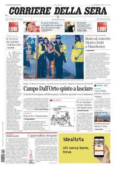 Corriere della Sera // 23/05/2017 //