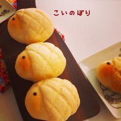 こどもの日に☆こいのぼりメロンパン