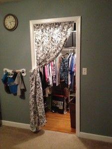 Closet Curtain!