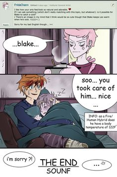 request from : FridaChann - edit: she mean if leo could get a cold -storytime : yesterday told me a mother of a friend, one of the best thing about being one is to be able to take care, and being t. Marceline, Bubbline, Billdip, Marshall Lee X Prince Gumball, Flame Prince, Monster Falls, Abenteuerzeit Mit Finn Und Jake, Yuri, Adventure Time Comics