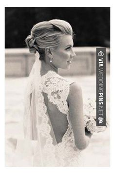 updo chapel veil, maybe above the knot? - - updo chapel veil, maybe above the knot? Wedding Hairstyles With Veil, Wedding Updo, Pretty Hairstyles, Straight Hairstyles, Veil Hairstyles, Wedding Makeup, Cute Wedding Ideas, Perfect Wedding, Dream Wedding