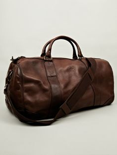 Ralph Lauren Gym leather bag