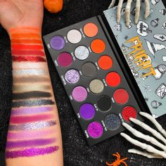 FRIGHT | Halloween Makeup Eyeshadow Palette | Creative Soul Cosmetics
