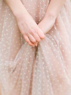 polka dot/swiss dot wedding dresses make me swoon