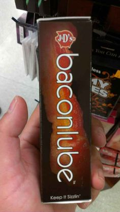 When someone decided lube needed to be more bacon-y. | 18 Times Humanity Went Too Far