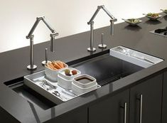 Modern Kitchen Sink Faucets franke kitchen sinks - peak sink featured - 16 gauge stainless