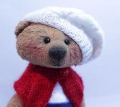 teddy teddy bear bear bear in clothes handmade toy gift handmade handmade gift bear girl collectible toy single instance author's toy